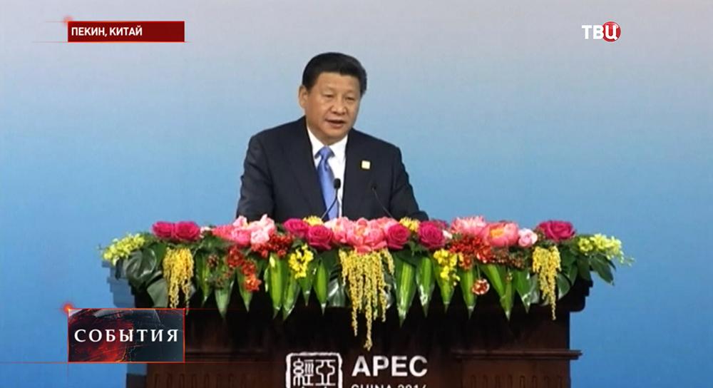 Выступление председателя КНР Си Цзиньпина