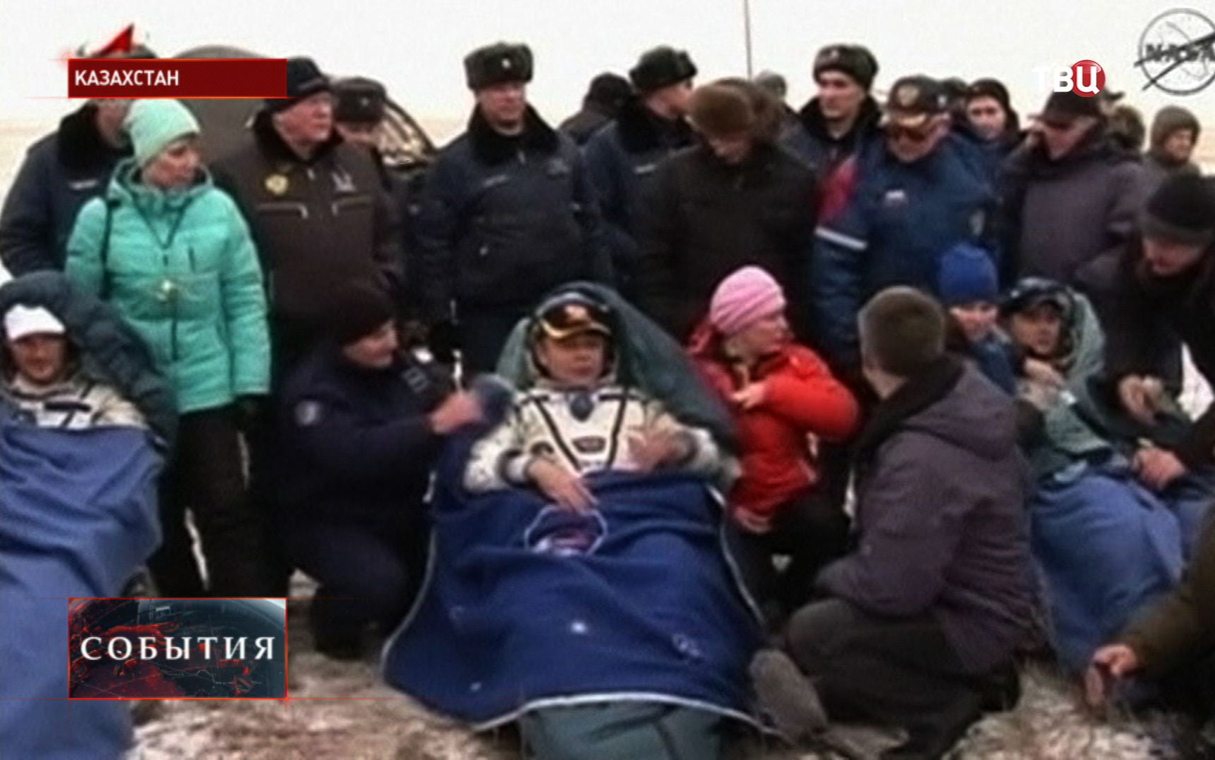 Космонавты МКС