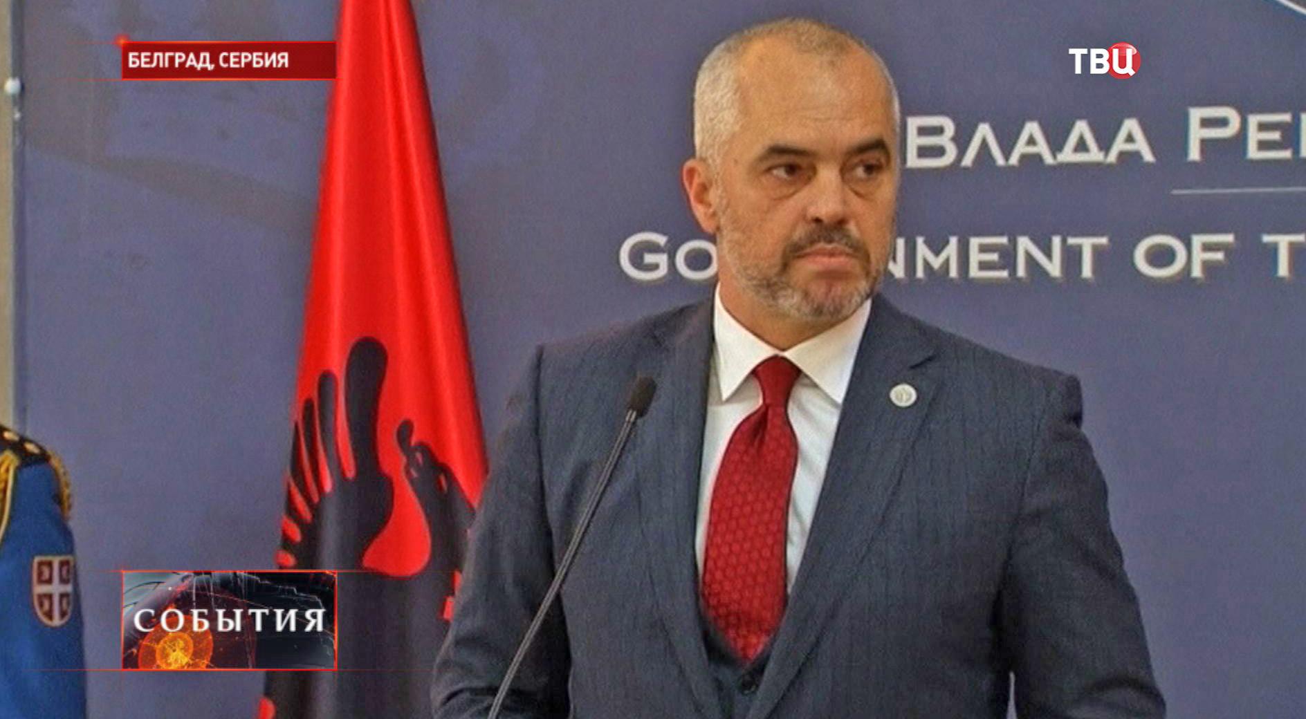 Премьер-министр Албании Эди Рама