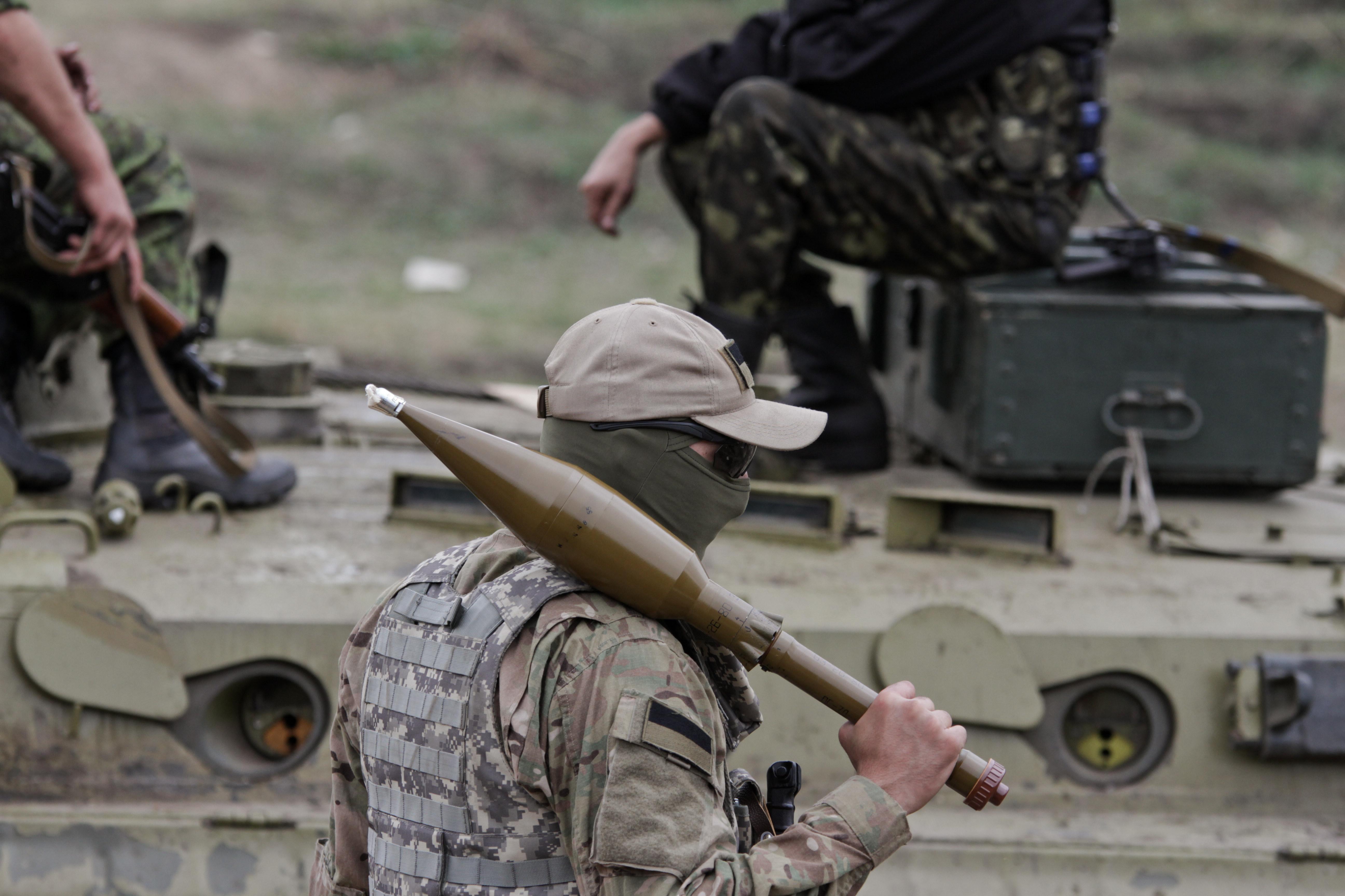 Боевые действия в Донецкой области