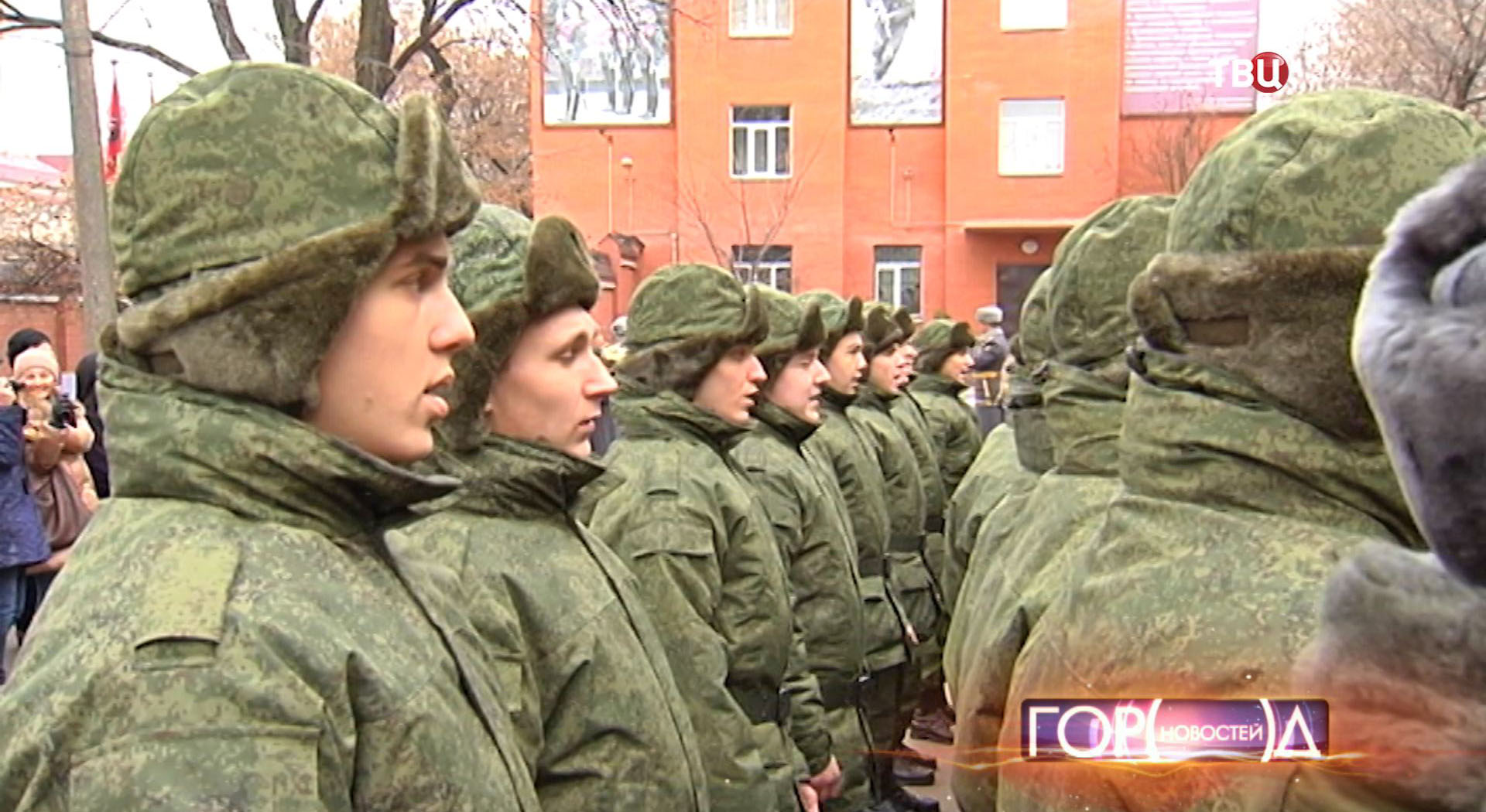 Новобранцы ЮВАО отправляются на военную службу