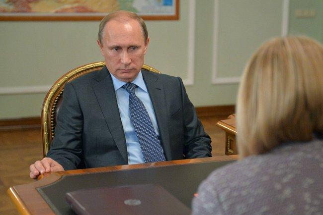 Президент России Владимир Путин провёл встречу с Уполномоченным по правам человека в России Эллой Памфиловой