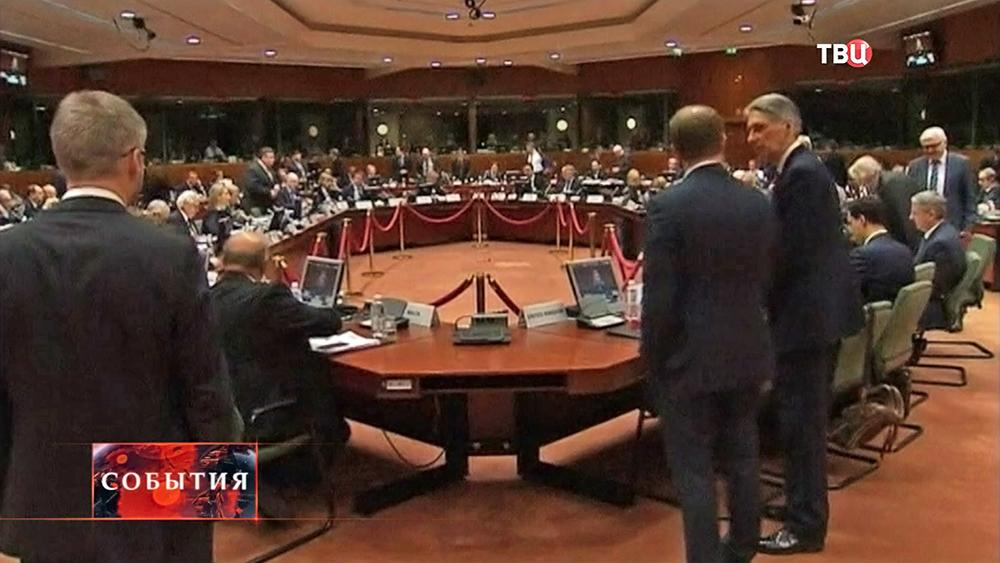 Саммит ЕС в Брюсселе