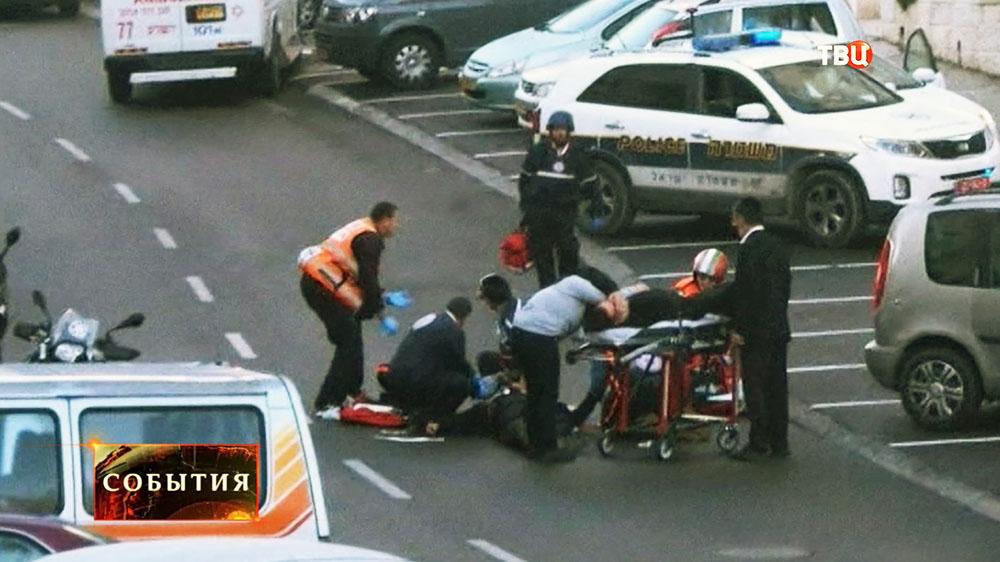 Пострадавшие при теракте в синагоге в Иерусалиме