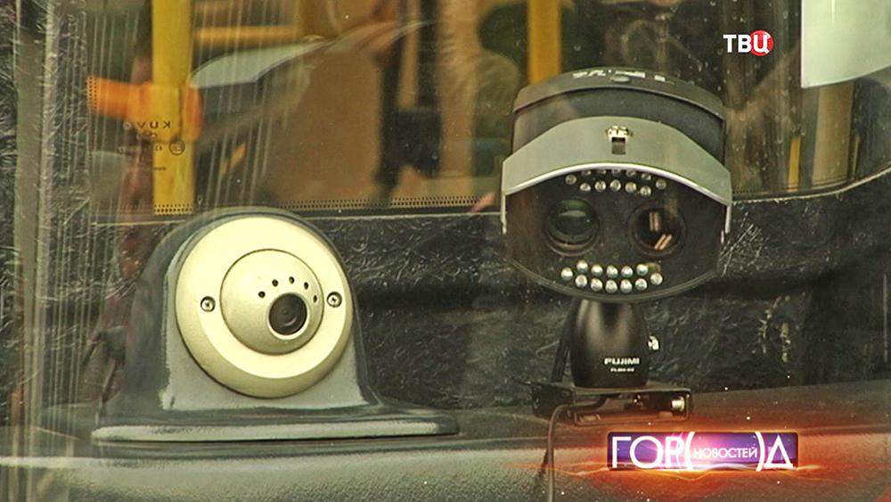 Мобильный комплекс видеофиксации нарушений ПДД в автобусе
