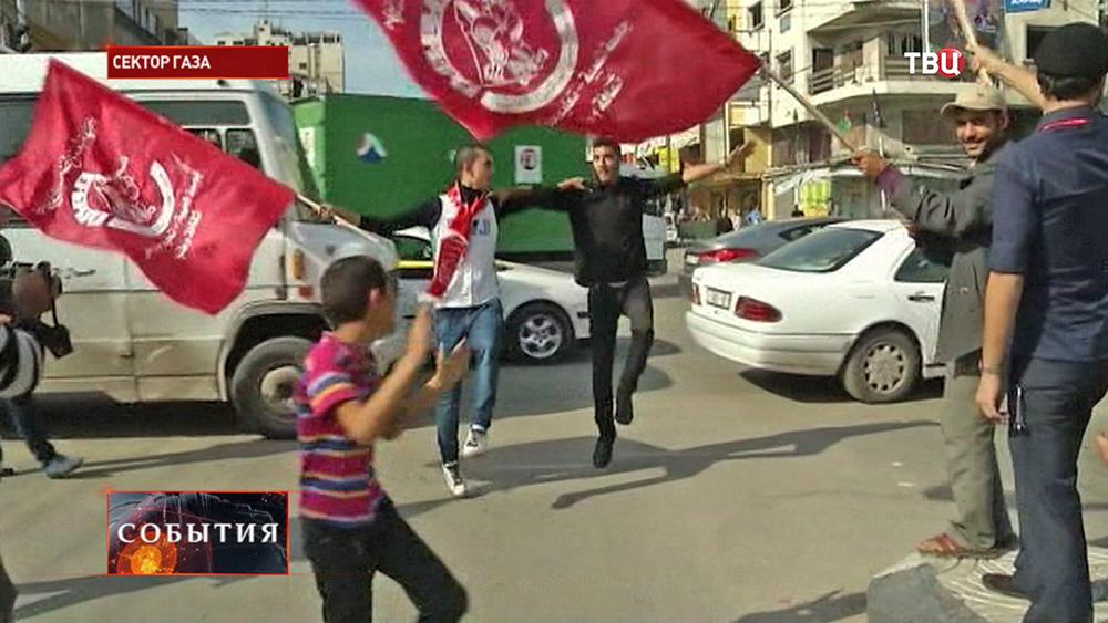 Реакция палестинцев на теракт в синагоге в Иерусалиме