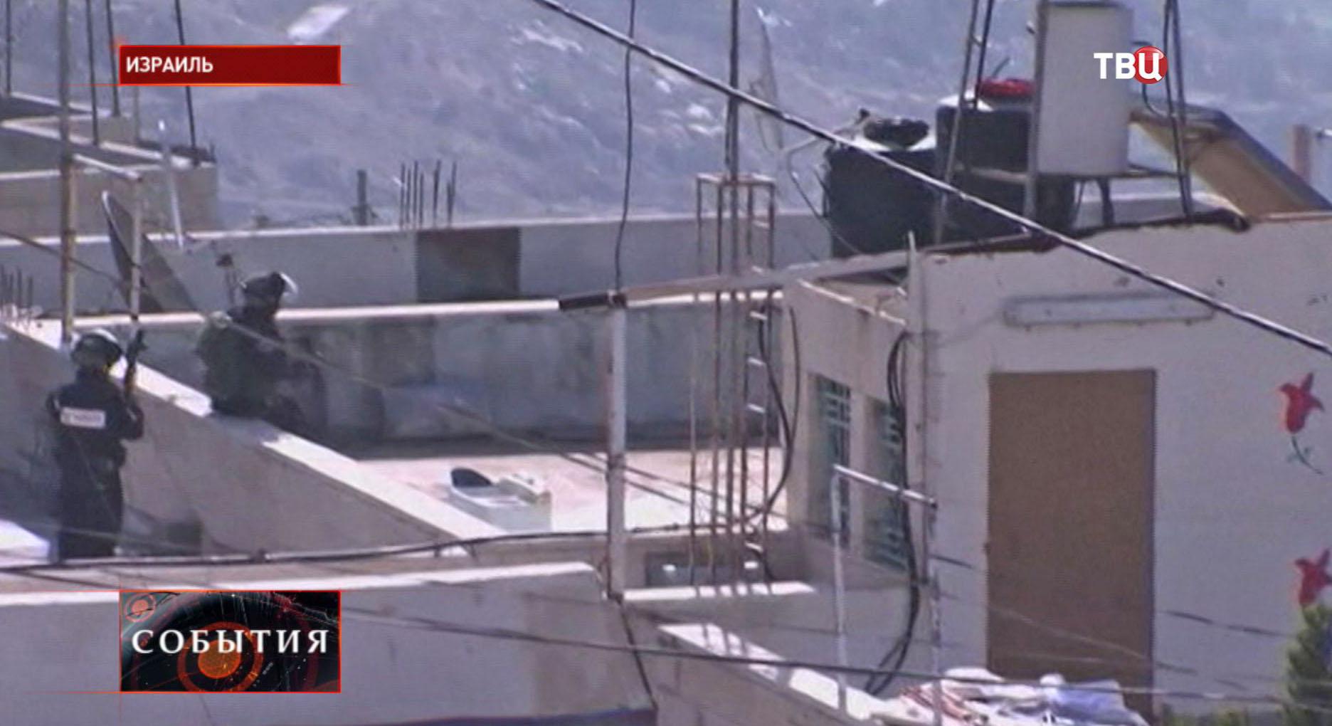 Боевые действия в Израиле