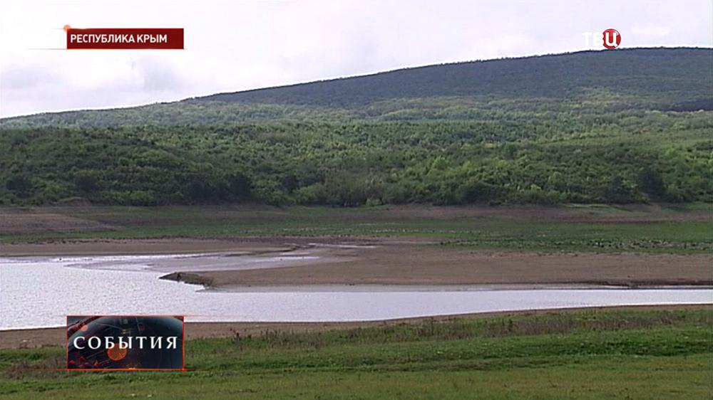 Пресный водоём в Крыму