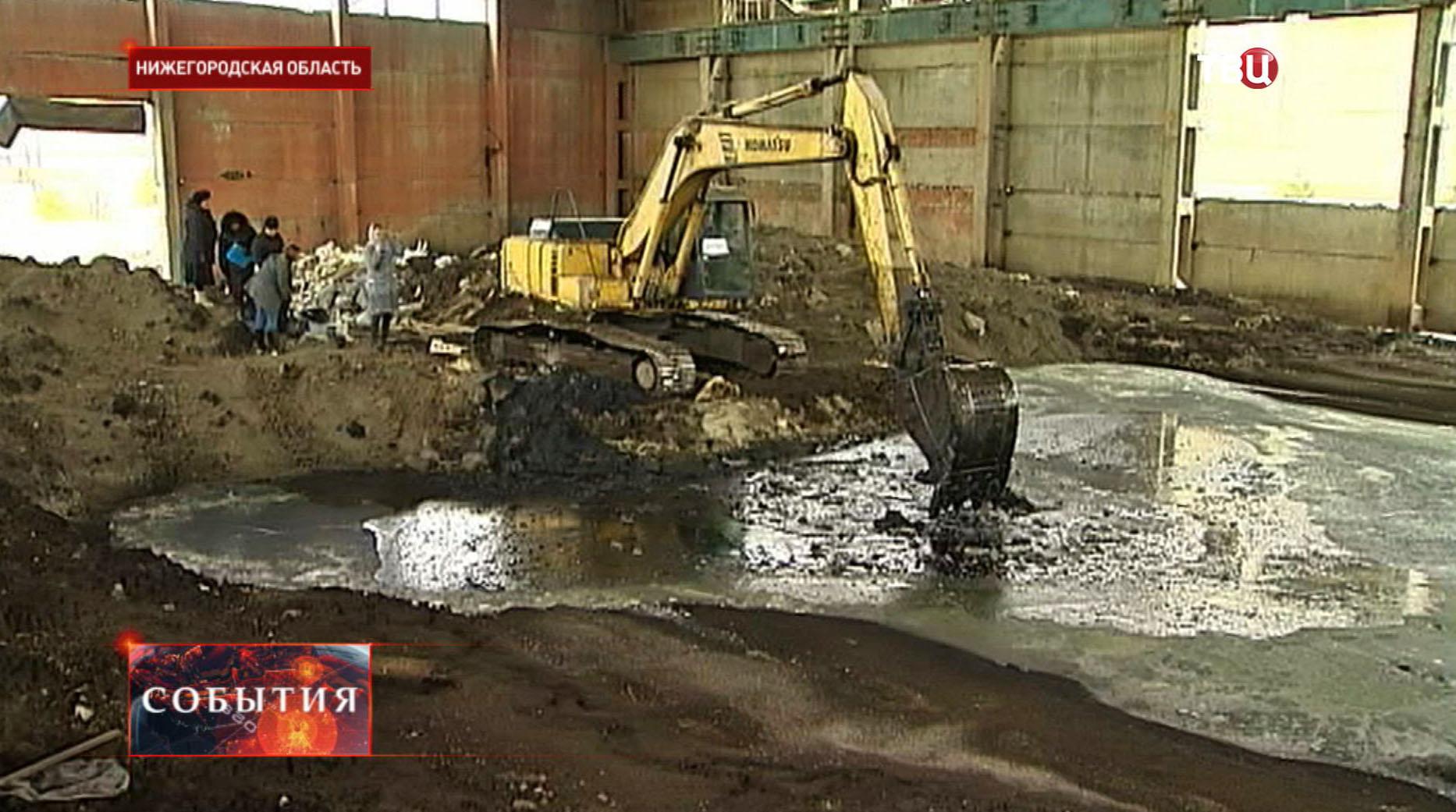 Свалка токсичных отходов в Нижегородской области