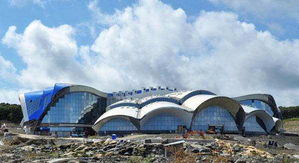 Строящийся Приморский океанариум