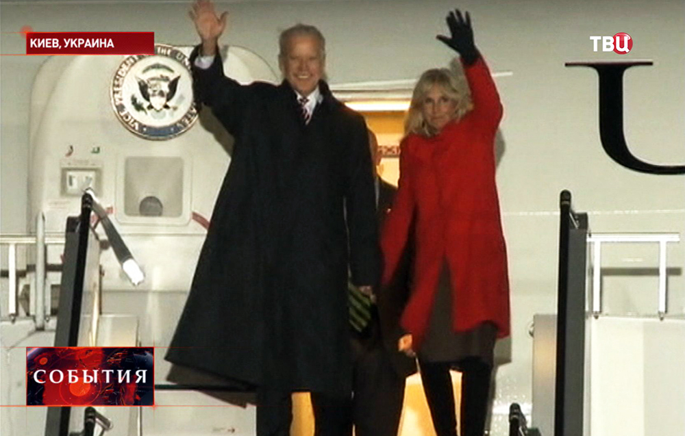 Вице-президент США Джо Байден прибыл на Украину