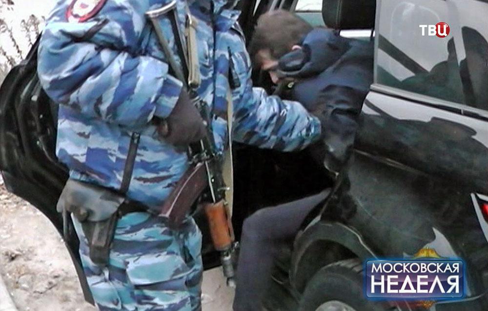 Полицейские задержали банду