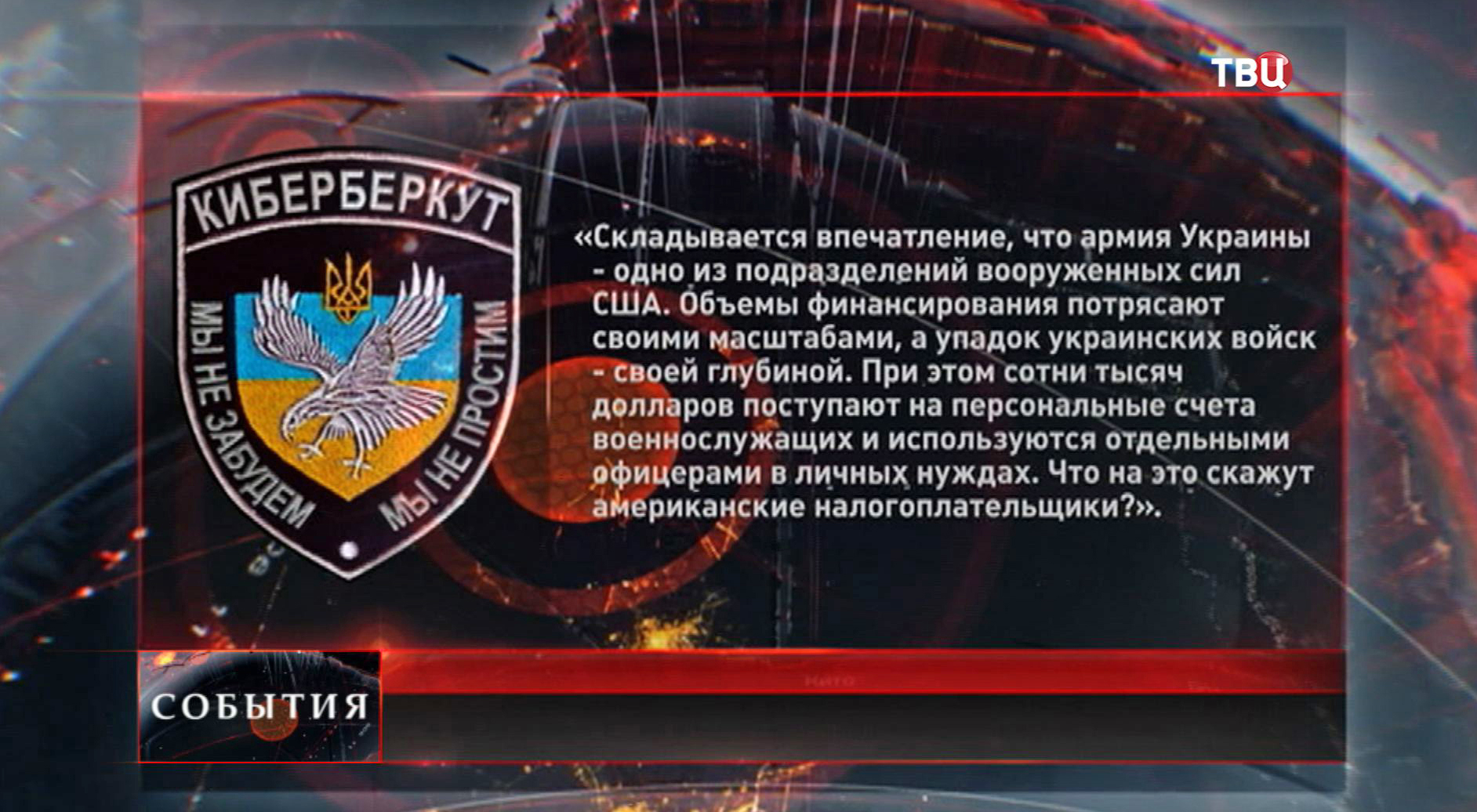 "Сообщение на сайте ""Киберберкут"""