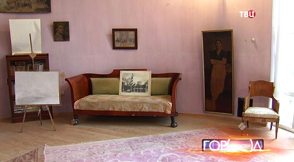 Интерьер дома архитектора Константина Мельникова