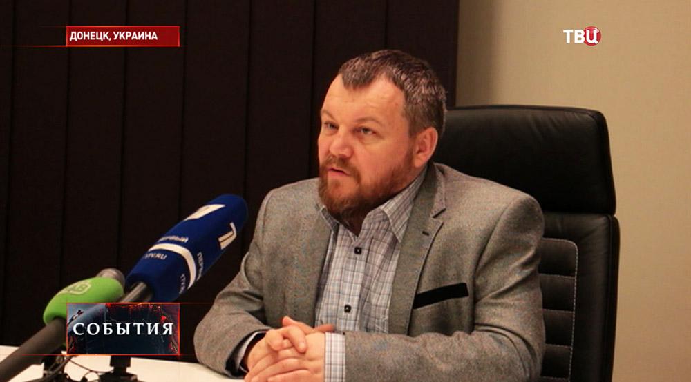 Первый вице-премьер ДНР Андрей Пургин