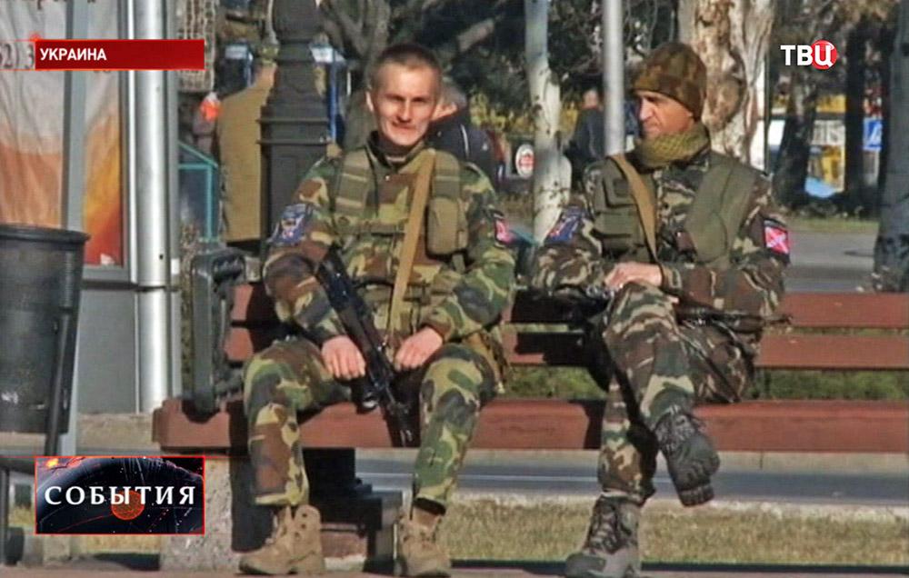Бойцы Новороссии