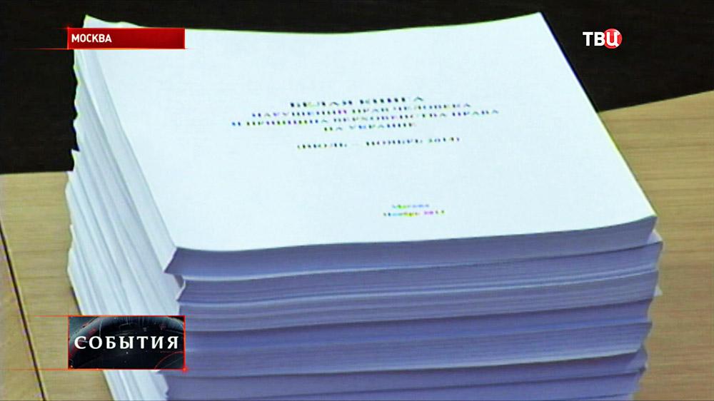 Белая книга нарушений прав человека на Украине