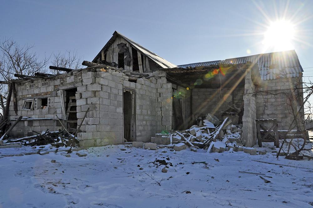 Последствия военных действий на востоке Украины