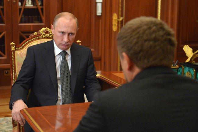 Владимир Путин провёл рабочую встречу с Главой Чеченской Республики Рамзаном Кадыровым