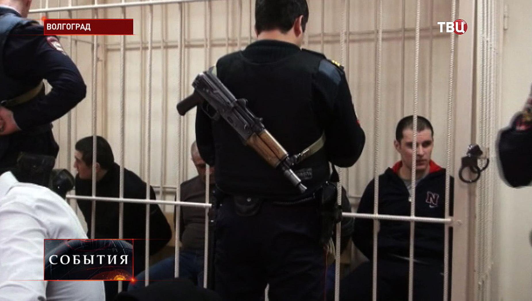 Зал суда в Волгограде