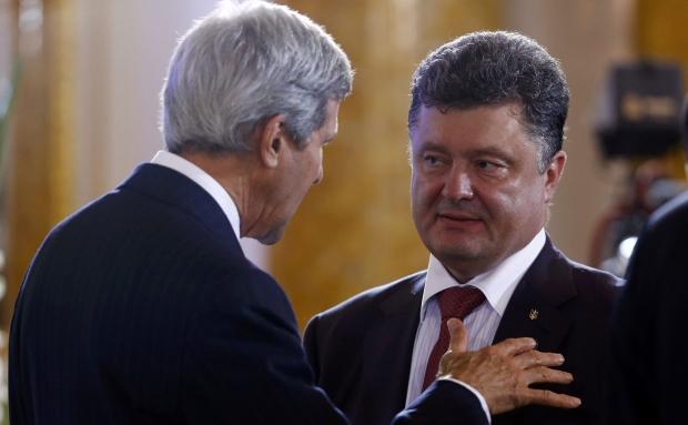 Порошенко и Керри высказались за новую минскую встречу :: Новости :: ТВ Центр - Официальный сайт телекомпании