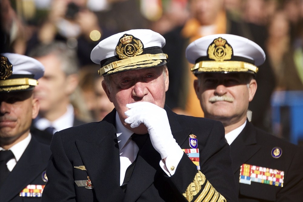 Король Испании (до 2013 года) Хуан Карлос