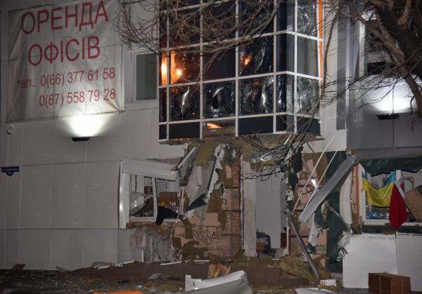 Взрыв в центре помощи украинской армии в Одессе