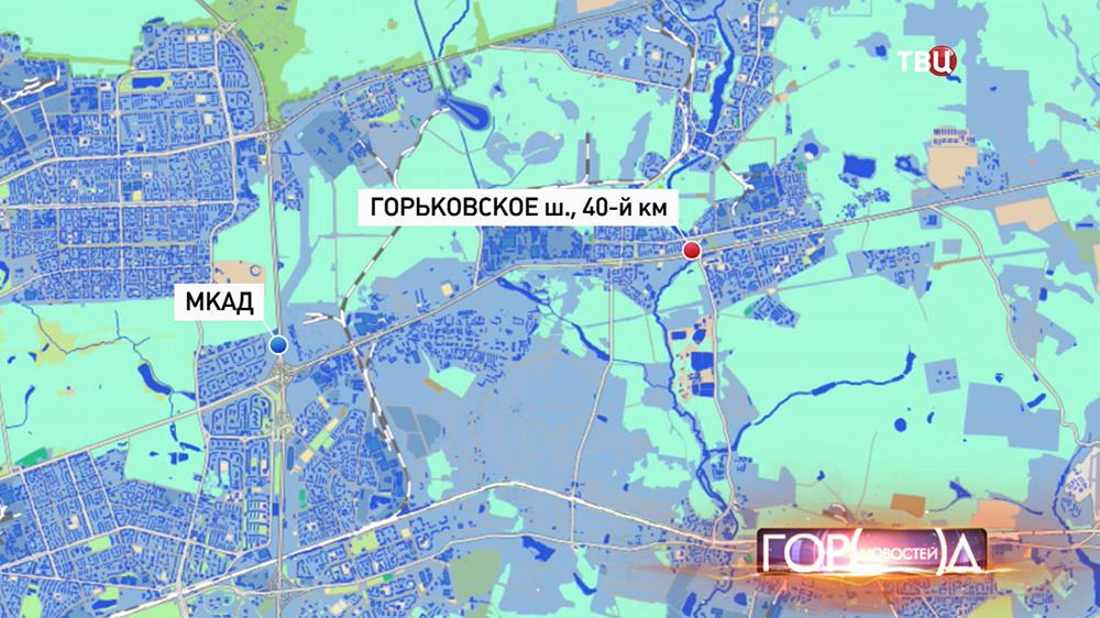 ДТП На Горьковском шоссе