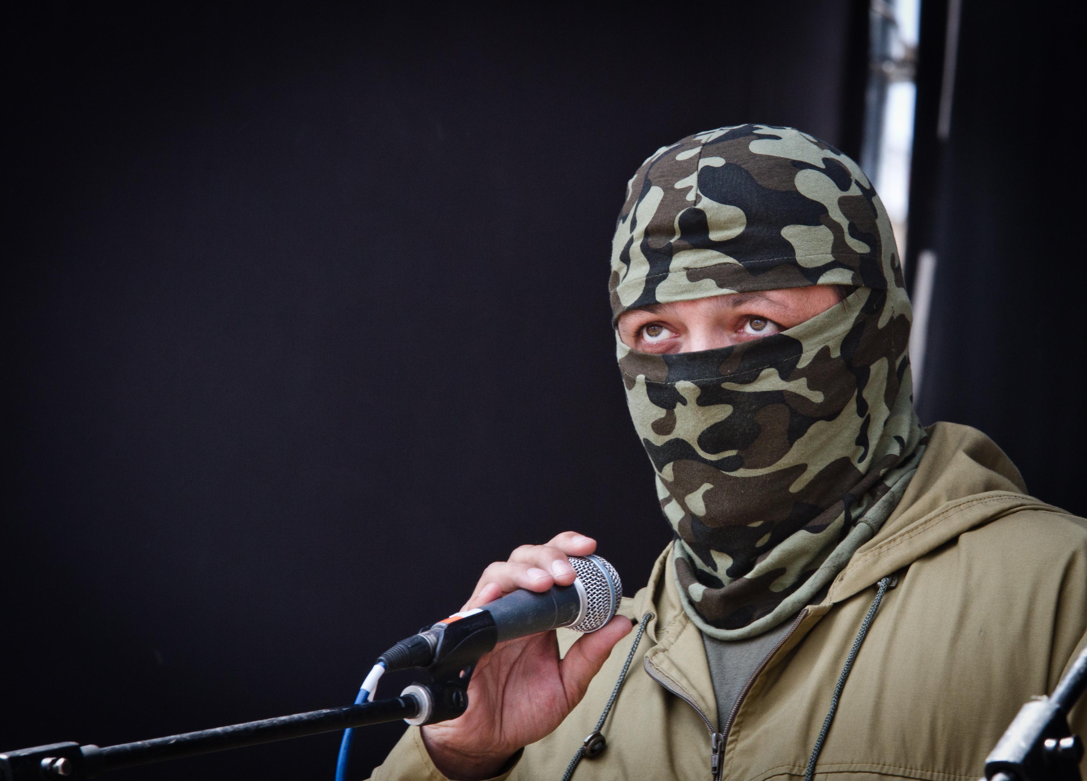 "Командир батальона ""Донбасс"" Семен Семенченко"
