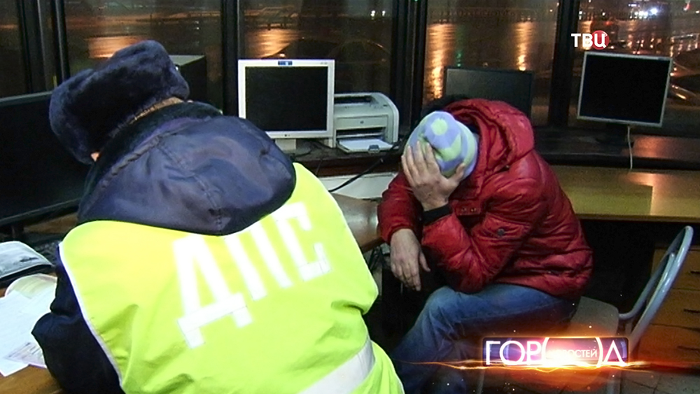 Инспекторы ДПС задержали пьяного водителя