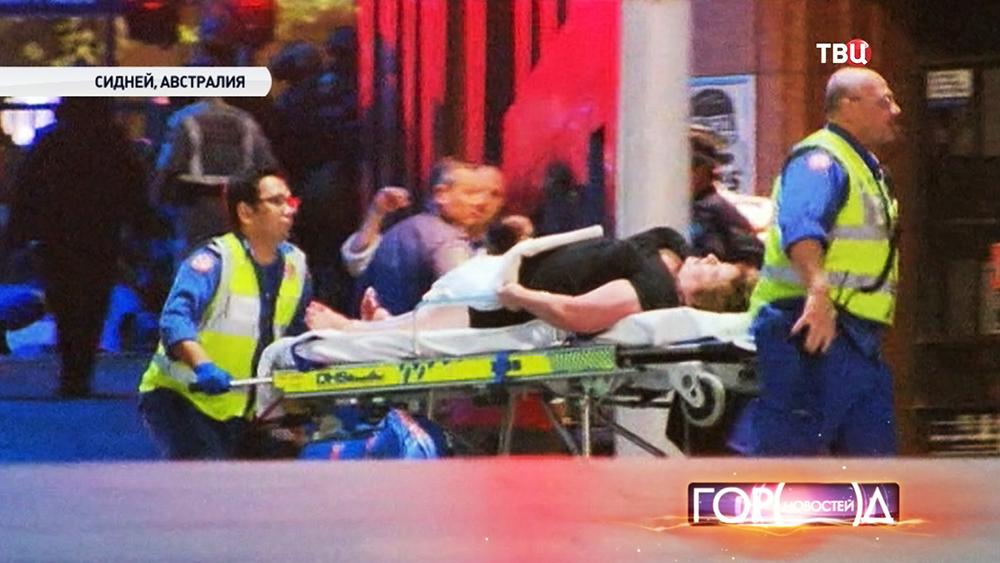 Операция по освобождению заложников в Сиднее