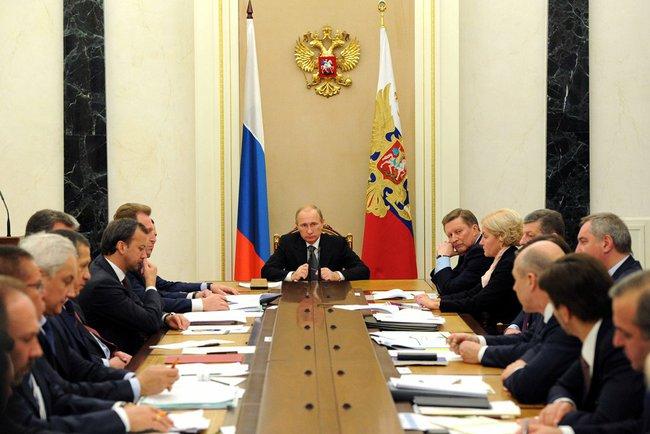 Владимир Путин провел заседание