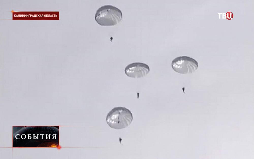 Военные учения в Калининградской области