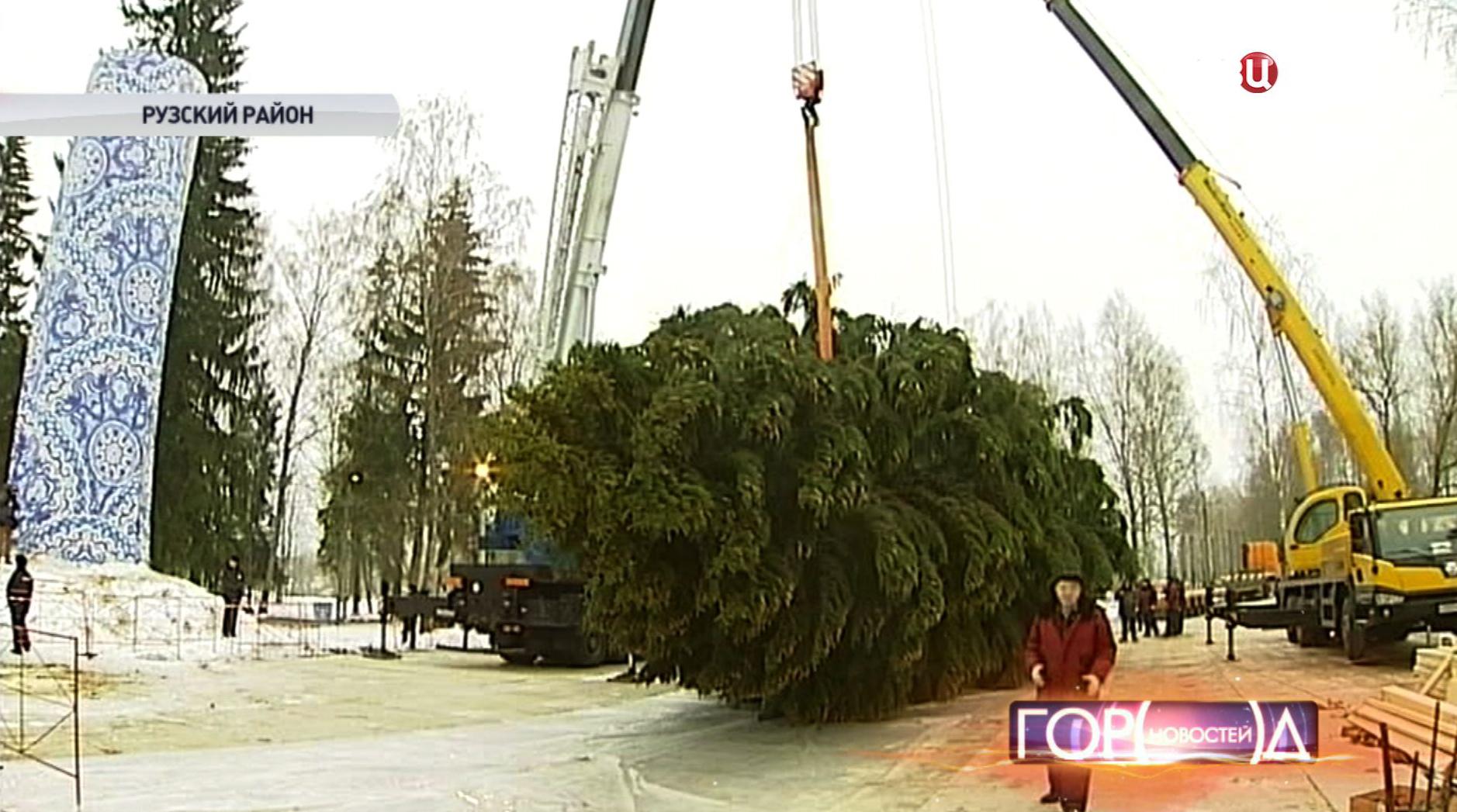 Кремлевская новогодняя елка