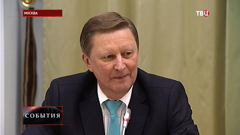 Глава президентской администрации Сергей Иванов