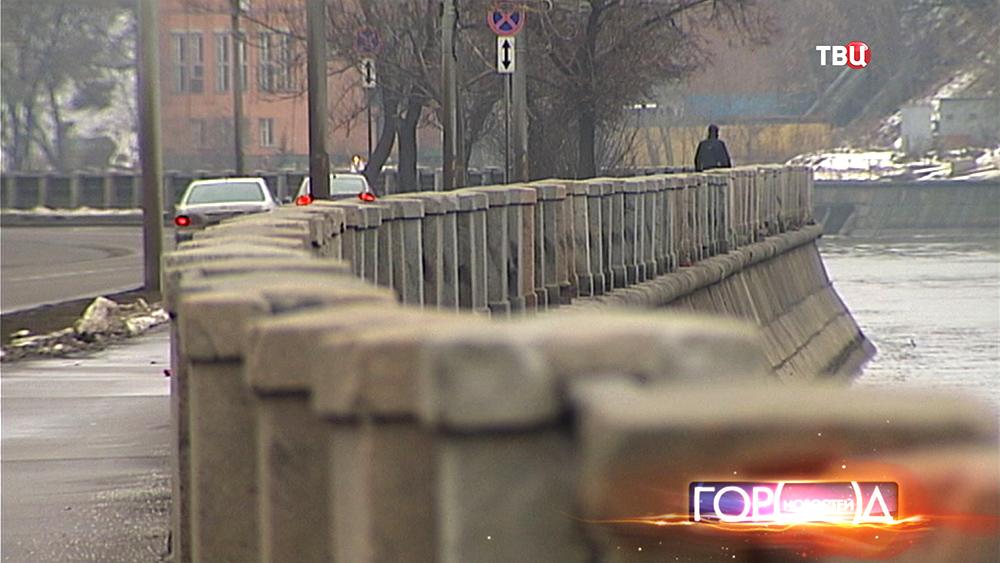 Набережная реки Москвы