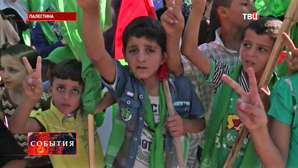 Митинг в Палестине