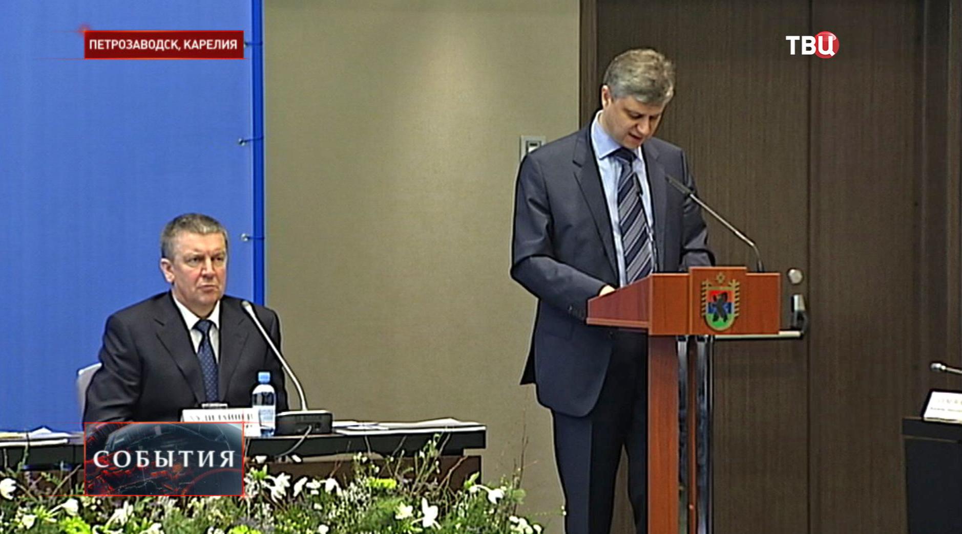 """Заседание """"государственная комиссия"""" в Карелии"""