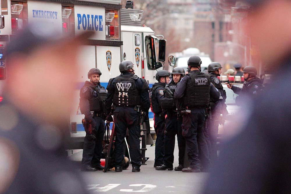 Спецоперация полиции США в Нью-Йорке