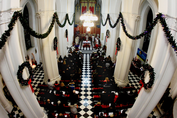 Празднование Рождества Христова в католической церкви