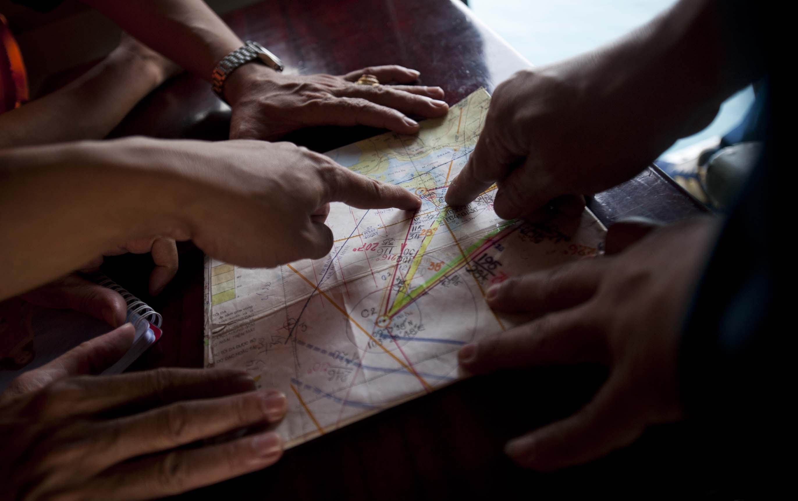 Поиски пропавшего лайнера Boeing 777-200ER авиакомпании Malaysia Airlines