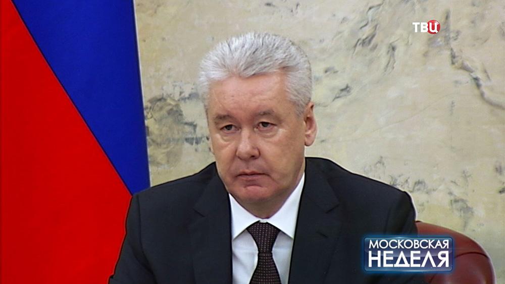 Мэр Москвы Сегрей Собянин