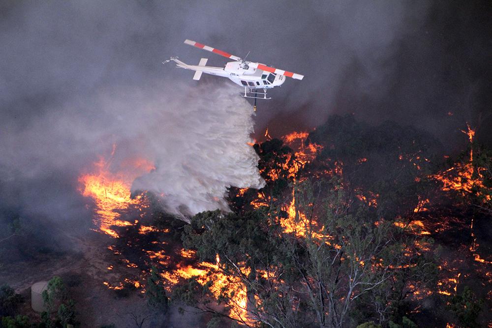 Пожары в Австралии