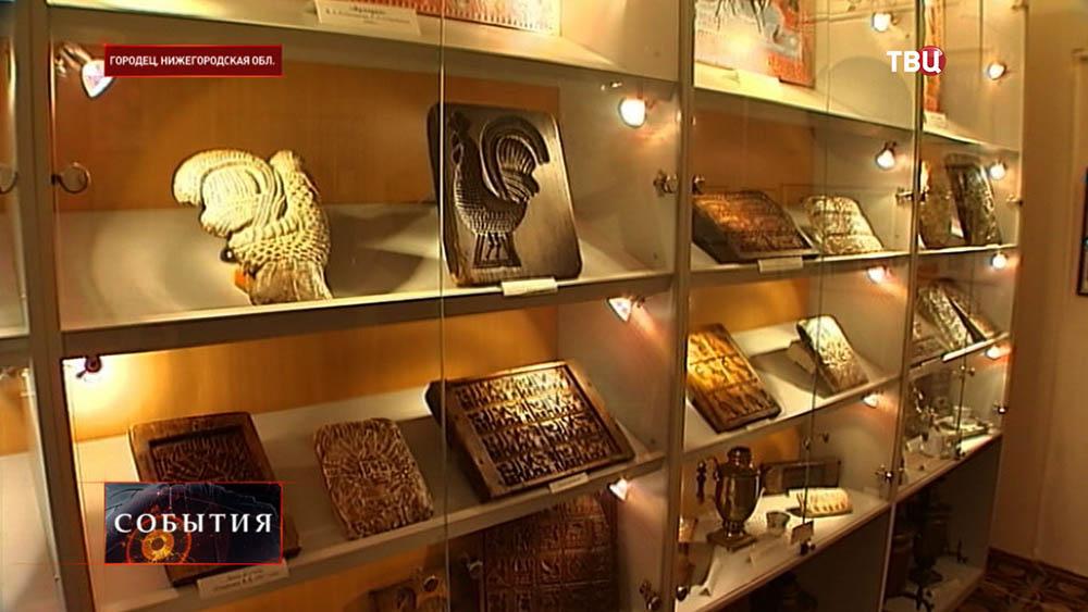 Экспозиция музея в Городце
