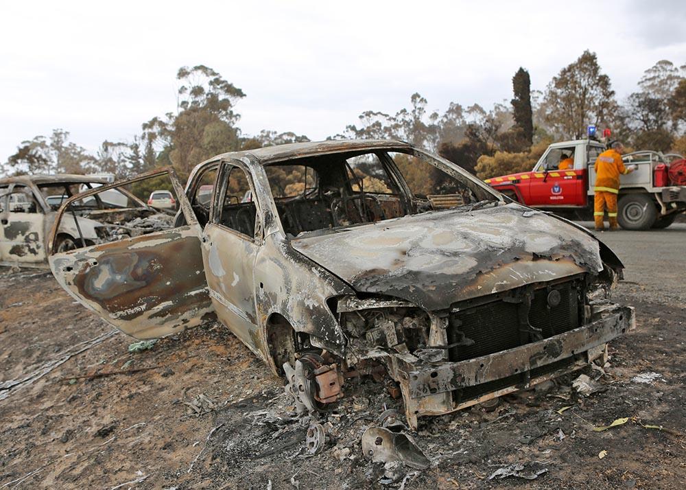 Последствия пожаров в Австралии
