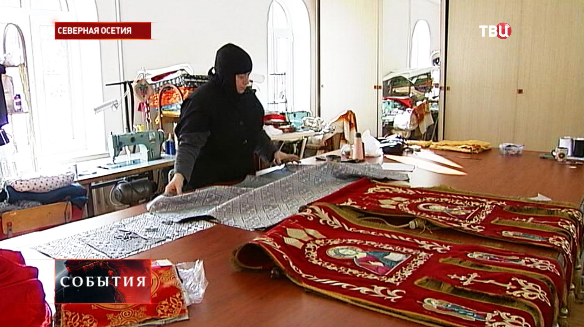 Подготовка к встрече Рождества в Северной Осетии