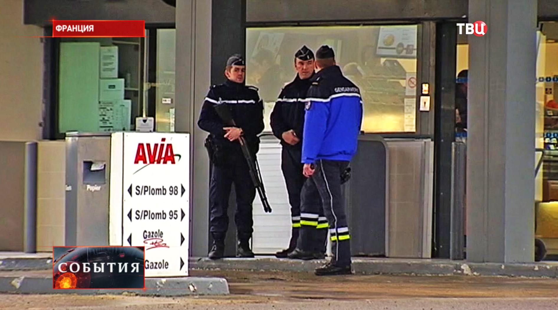 Полиция на месте захвата заложников