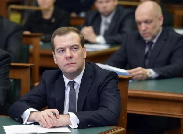 Председатель правительcтва РФ Дмитрий Медведев