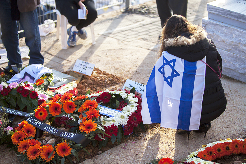 Похороны французских евреев погибших в теракте в Париже