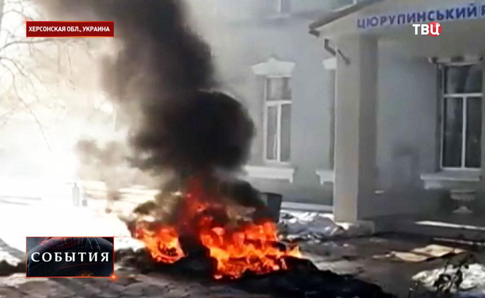 Беспорядки в городе Цюрупинск